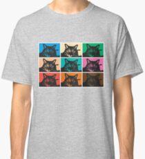 Farbige herzige Katzen Classic T-Shirt