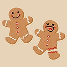 Gingerbread People by deancoledesign