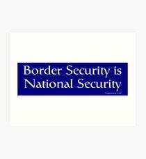 National Security Art Print