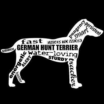 Terrier de caza alemán de ArtjomDesign