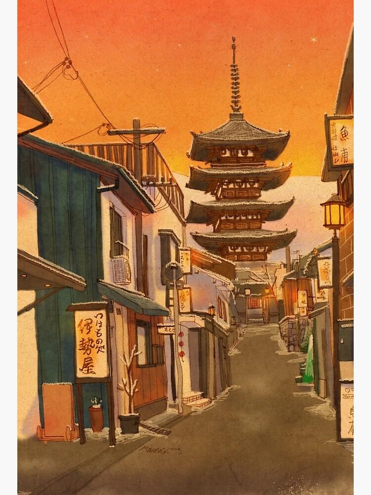 Yasaka Pagoda, Kyoto, Japan by puuung1