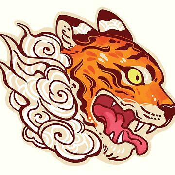 Tiger Spirit  by michelledraws