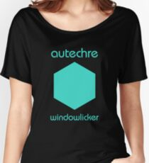 autechre / boards of canada / aphex twin mashup Women's Relaxed Fit T-Shirt