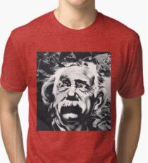 Camiseta de tejido mixto Albert Einstein