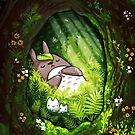 Totoro - Ghibli  by michelledraws