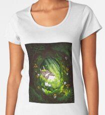 Totoro - Ghibli  Premium Scoop T-Shirt