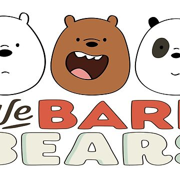 We Bare Bears - Heads by GiggleTees