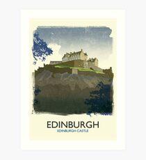 Edinburgh, Edinburgh Castle, Scotland Art Print