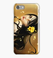 Lady Daffodil iPhone Case/Skin