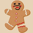 Gingerbread Person - Oh Snap! by deancoledesign