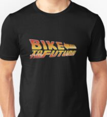 Bike To The Future Slim Fit T-Shirt