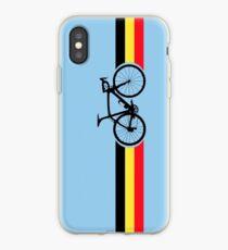 Bike Stripes Belgian National Road Race iPhone Case