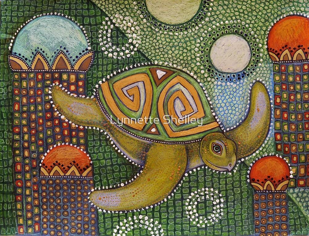 The Garden of Honu by Lynnette Shelley