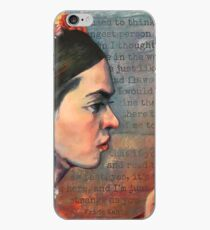 Frida at Work iPhone Case