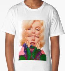 Marilyn Monroe Popart Long T-Shirt