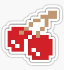 Pixel Cherry Sticker Sticker