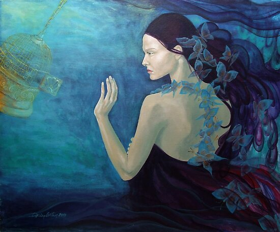 Meandering thoughts - The Butterfly's Way  by dorina costras