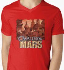 Cavaliers Art: Vance Men's V-Neck T-Shirt