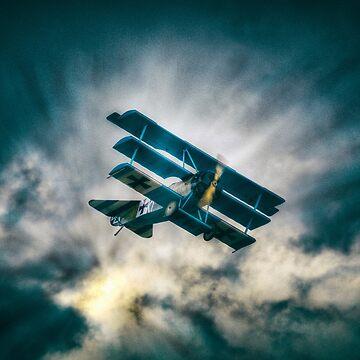 Fokker Triplane DR1  by Nigdaw