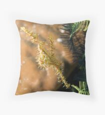 Camoflaged Throw Pillow