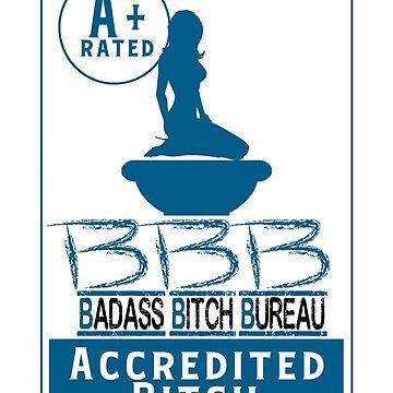 Badass Bitch Bureau  by JbandFKllc