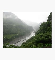 an incredible Taiwan landscape Photographic Print