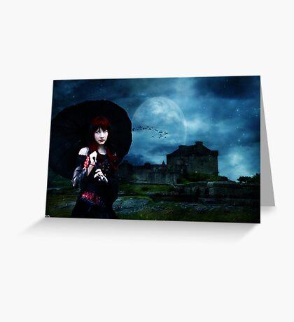 claudias castle Greeting Card