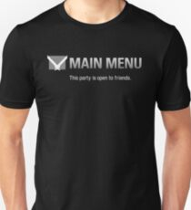 Main Menu T-Shirt