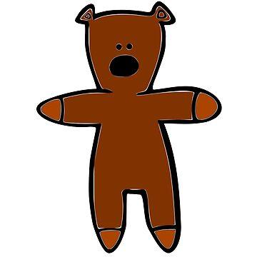 Mr Bean Teddy by The-Engineer