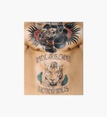 Conor McGregor Tattoos Brust und Bauch Galeriedruck