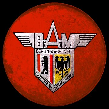 BAM motorcycles by midcenturydave