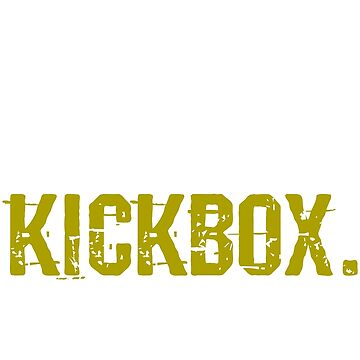 Kickboxing by 4tomic