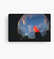 Above us only Sky Canvas Print