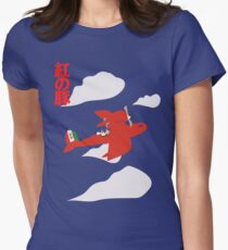 Porco Rosso Women's Fitted T-Shirt