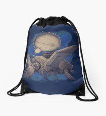 Globe Transporter Drawstring Bag
