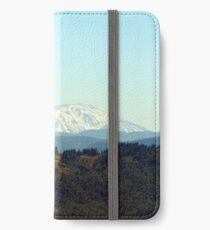Mt. Saint Helens iPhone Flip-Case/Hülle/Skin