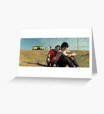 Little Miss Sunshine - Color Blind Greeting Card