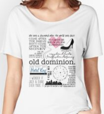 Old Dominion Lyrics Women's Relaxed Fit T-Shirt