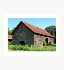 """""""A Simple and Old Timey Barn""""... prints and products Art Print"""