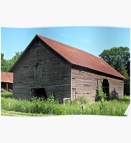 """""""A Simple and Old Timey Barn""""... prints and products Poster"""