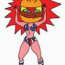 Hamburger Head by tigerbay
