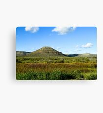 Sanderson Canyon, Terrell County, Texas Canvas Print