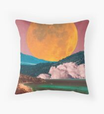 Landscape Collage #75 Throw Pillow