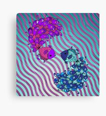 Fish Yin Yang Harmony Canvas Print