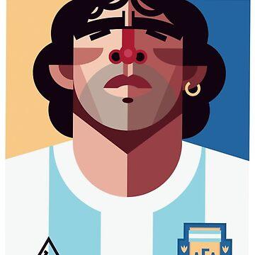 #Maradona by Matty723