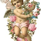 Floral Baby Angel by AngelicSouls