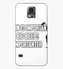 Fitness: Education Is Important, But Biceps Are Importanter Case/Skin for Samsung Galaxy