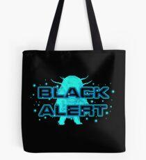 Black Alert (small) Tote Bag