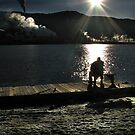 sitting on the dock of the bay_________________ by sue shaw