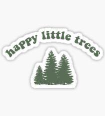 Happy Little Trees Bob Ross Sticker Sticker